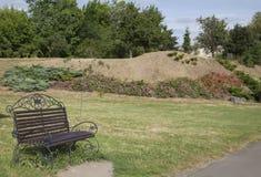 Bench в парке Стоковое Фото