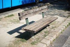 bench парк деревянный Стоковые Фотографии RF