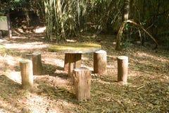 bench ярд таблицы святой скита Израиля haritones церков правоверный русский Стоковая Фотография RF