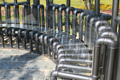 A bench Stock Image