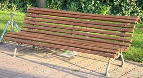 Bench. Park bench royalty free stock images
