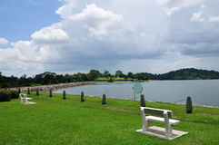 Bench And Reservoir