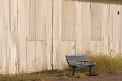 Bench Angle Royalty Free Stock Photos