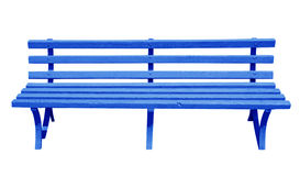 Bench blue Royalty Free Stock Photography