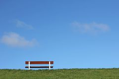 Bench on a Royalty Free Stock Photography