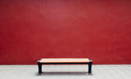 Bench in The Forbidden City Stock Image