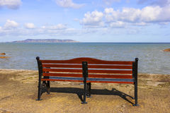 Bench in front of Sea Royalty Free Stock Image