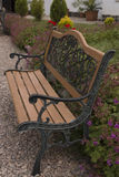 Bench in the garden Royalty Free Stock Images