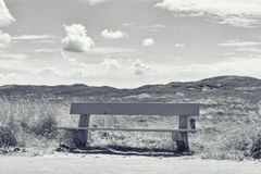 Bench, Germany, Sylt, List. Stock Images
