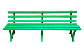 Bench green Royalty Free Stock Photos