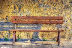 Bench in hdr Royalty Free Stock Photos