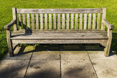 Bench in Hyde Park Stock Image
