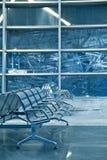 Bench i korridoren av moscow Royaltyfria Bilder
