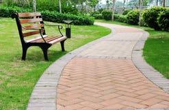 Free Bench In Garden Stock Photo - 14981200