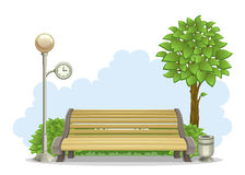 Free Bench In Park Royalty Free Stock Image - 32053176