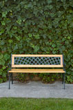 Bench In The Garden. Royalty Free Stock Images