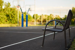 Bench. Stock Image