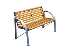 Bench isolated Stock Photo