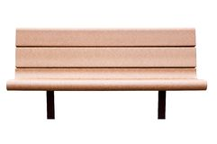 A bench. Isolated, with clipping path Stock Images