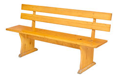 Bench isolated Royalty Free Stock Image