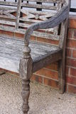 Bench in Kerrville Texas. This pic was taken in Kerrville Texas on New Years Eve 2016 Stock Image