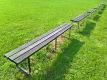Bench Line Royalty Free Stock Image