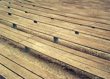 Bench lines Stock Images