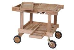 Bench los muebles del jardín de la teca, muebles del jardín de la teca Fotografía de archivo libre de regalías