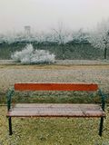 Bench mist Stock Photos