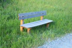 Bench in the mountain. A bench in the mountain Stock Image