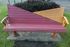 Bench nel parco - Suva, Figi fotografie stock libere da diritti