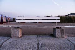 Bench on norderney Stock Photos