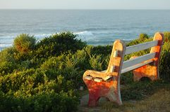 Bench outdoors Royalty Free Stock Photography