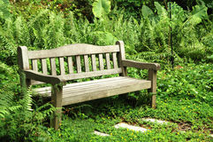 Bench By The Park Royalty Free Stock Image