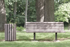 Bench Park Stock Photography