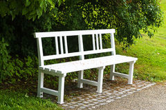 bench in the park. Calm place for thinking Stock Photography