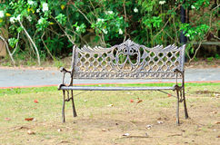 Bench at the park royalty free stock image
