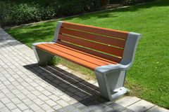 Bench in the park Royalty Free Stock Photography