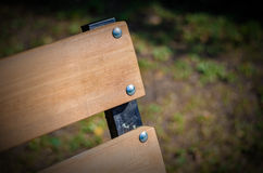 Bench in a park. Stock Image