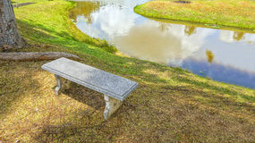 A bench at the park Royalty Free Stock Image