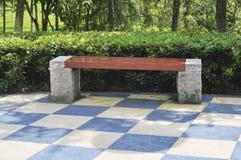 Bench at a park Stock Photos