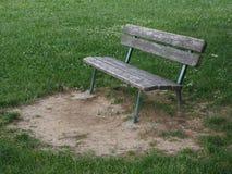 Bench park outdoor Royalty Free Stock Photos