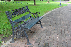 Bench in the park.Part 2 Royalty Free Stock Photos