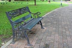 Bench in the park.Part 2. Bench in the park in thailand Royalty Free Stock Photos