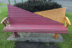 Bench in the park - Suva, Fiji. Colorful bench in the park - Suva, Fiji Royalty Free Stock Photos