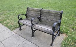 Bench in the Park from Washington DC in USA Royalty Free Stock Photo