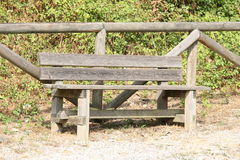 The bench in park Stock Photos