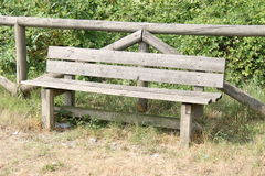 The bench in park Stock Images