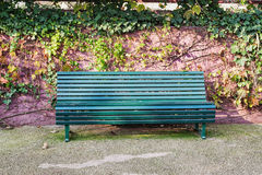 Bench in park Stock Image