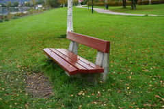 bench parkred Arkivbilder